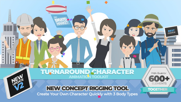 Turnaround Character Animation Toolkit