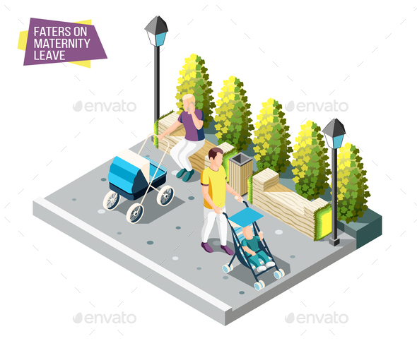 Fathers on Maternity Leave Design Concept