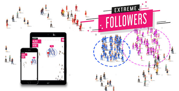 Extreme Followers - HTML5 Game Download