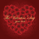 Romantic Card With Red Roses  - GraphicRiver Item for Sale