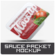 Dipping Sauce Packet Mock-Up - GraphicRiver Item for Sale