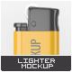 Lighter Mock-Up - GraphicRiver Item for Sale