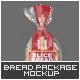 Slice Bread Packaging Mock-Up - GraphicRiver Item for Sale