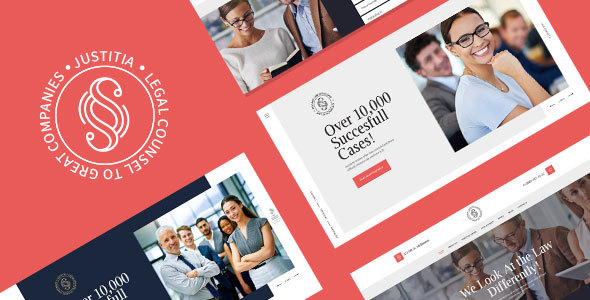 Justitia | Multiskin Lawyer & Legal Adviser WordPress Theme