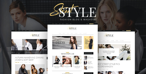 Street Style - Fashion & Lifestyle Personal Blog WordPress Theme