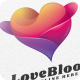 Love Bloom - Logo Template - GraphicRiver Item for Sale