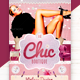 The Chic Boutique Flyer Template