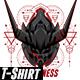 Darkness Design Tshirt - GraphicRiver Item for Sale