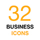Business and Finance Icon Set. Outline Vector Icons. - GraphicRiver Item for Sale
