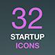 Outline Web Icon Set. Start-up business idea. - GraphicRiver Item for Sale