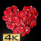 Heart Shaped Rose Petals - VideoHive Item for Sale