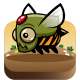 5 Armored Bees Sprites | Enemy Game Characters - GraphicRiver Item for Sale