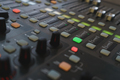 Equipment for DJ and musicians sound mixer. - PhotoDune Item for Sale