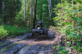 Summer Activities for adults - a trip on quad bikes on the dirty - PhotoDune Item for Sale