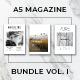 A5 Magazine Bundle Vol. I - GraphicRiver Item for Sale