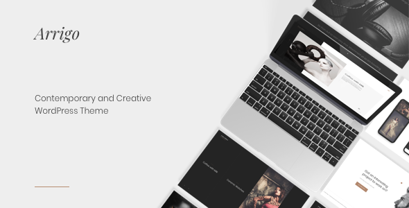 Arrigo – Contemporary Creative Portfolio Elementor WordPress Theme