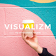 Visualizm - Pop Art & Graffiti Google Slides Template - GraphicRiver Item for Sale