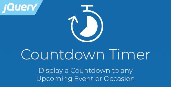 Countdown Timer - Responsive jQuery Plugin