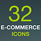 Shopping Thin Line Icon Set. Web Store, Market, Shop - GraphicRiver Item for Sale