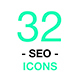 Thin Lines Web Vector Icons. Set of SEO Search Engine Optimization icons and illustrations - GraphicRiver Item for Sale