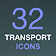 Transportation Icons. Transport Concept Thin Line Vector Icon Set. - GraphicRiver Item for Sale