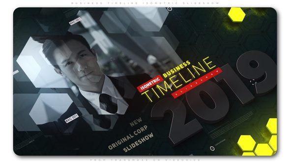 Business Timeline Isometric Slideshow