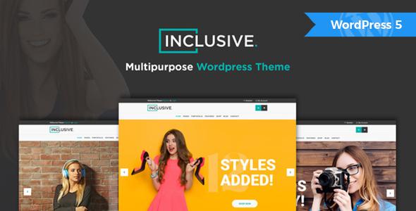 Inclusive - Multipurpose WooCommerce WordPress Theme
