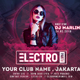 Electro Event Party Flyer - GraphicRiver Item for Sale