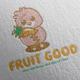 Fruit Good Logo Design - GraphicRiver Item for Sale