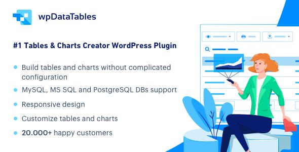 wpDataTables - Menedżer tabel i wykresów dla WordPress