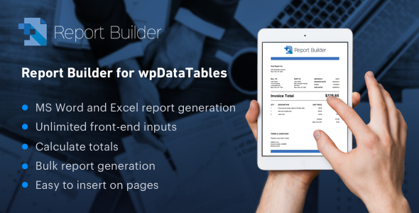 Report Builder add-on for wpDataTables - Generate Word DOCX and Excel XLSX documents Free Download #1 free download Report Builder add-on for wpDataTables - Generate Word DOCX and Excel XLSX documents Free Download #1 nulled Report Builder add-on for wpDataTables - Generate Word DOCX and Excel XLSX documents Free Download #1