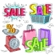 Colorful Items for Trade or Sale - GraphicRiver Item for Sale