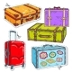 Set of Travel Bags - GraphicRiver Item for Sale