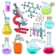 Set of Chemical Laboratory Equipment - GraphicRiver Item for Sale