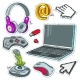 Set of Technology - GraphicRiver Item for Sale