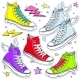 Set of Sneakers - GraphicRiver Item for Sale