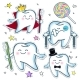 Set a Cheerful and Sad Teeth - GraphicRiver Item for Sale