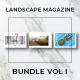 Landscape Magazine Bundle Vol. I - GraphicRiver Item for Sale