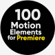 100 Motion Elements Premiere - VideoHive Item for Sale
