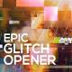 Glitch Opener - VideoHive Item for Sale