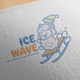 Ice Wave Logo Design - GraphicRiver Item for Sale