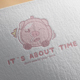 Its About Time Logo Design - GraphicRiver Item for Sale