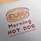 Morning Hot Dog Logo Design - GraphicRiver Item for Sale
