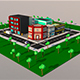 Low poly City 1.Block - 3DOcean Item for Sale