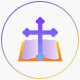 Christianity | 16 Flat Gradient Icons Set - GraphicRiver Item for Sale