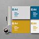 4 Horizontal A4 Mockups - GraphicRiver Item for Sale