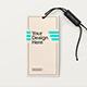 Label Tag Mockup Mod 01 - GraphicRiver Item for Sale
