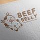Beef Belly Logo Design - GraphicRiver Item for Sale