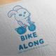 Bike Along Logo Design - GraphicRiver Item for Sale