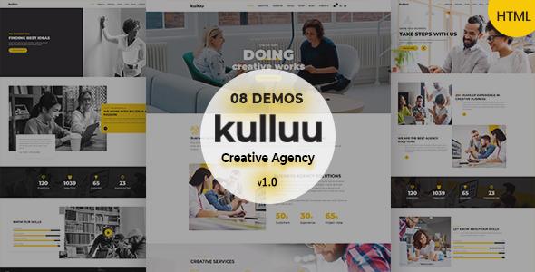 Kulluu – Creative Agency Responsive HTML Template